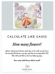 how many flowers worksheet